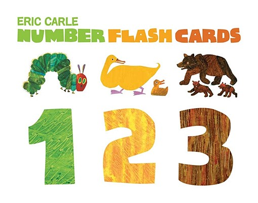 Number Flash Cards 1 2 3 By Carle, Eric